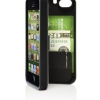 EYN (Everything You Need) Smartphone Case for iPhone 5/5s - Black (eynblack5)