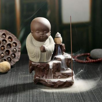 The Chubby Monk - Backflow Incense Burner