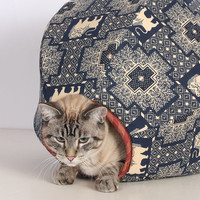 Tard the Grumpy Cat the Cat Ball Cave Bed Furniture for Your Kitty
