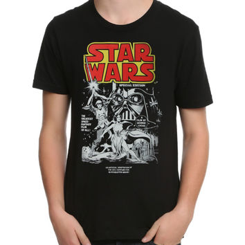 Star Wars Comic Cover T-Shirt