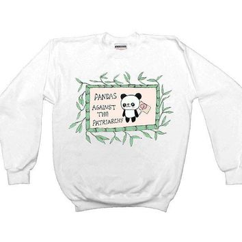 Pandas Against The Patriarchy -- Unisex Sweatshirt