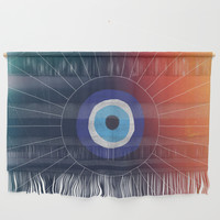 Evil Eye Wall Hanging by duckyb