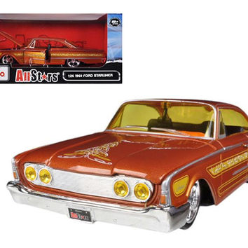 "1960 Ford Starliner Orange ""All Stars"" 1-26 Diecast Model Car by Maisto"