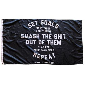 Set Goals (Flag)