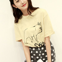 French Bulldog Short Sleeve Tee