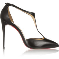 Christian Louboutin - J String 100 leather T-bar pumps