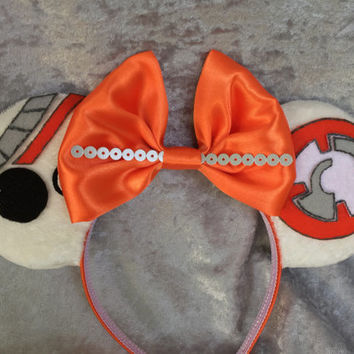 The Force Awakens BB-8 themed mouse ears