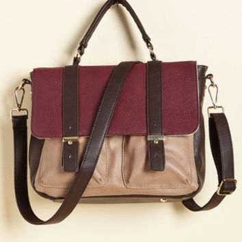 Agree to Master's Degree Bag in Wine | Mod Retro Vintage Bags | ModCloth.com