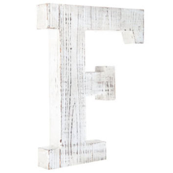 Whitewashed Wood Letter Wall Decor - A | Hobby Lobby | 1329226