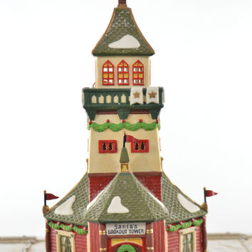 Department 56 North Pole Series Santa's Look Out Tower