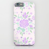 Sweet Rose Lavender iPhone & iPod Case by Lisa Argyropoulos | Society6