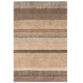 Rock Hill Stripe Hand Knotted Rug