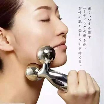 Body Massager Thin Face Artifact Of Roller Machine V Massager Instrument To Double Chin Lean Muscle 3 D Massage Ball