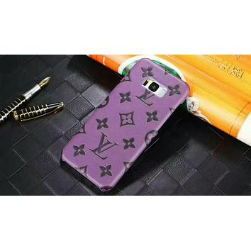 LV Louis Vuitton 2018 trendy men and women iPhone 6/7/8 mobile phone shell F-OF-SJK #2