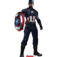 Captain America Avengers Age Of Ultron Cardboard Standup
