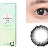 SEED Eye Coffret 1 Day UV Natural Make (Black) Circle Lens