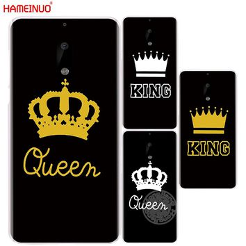 HAMEINUO King Queen YOUR MINE cover phone case for Nokia 9 8 7 6 5 3  Lumia 630 640 640XL 2018