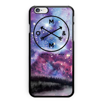 Of Mice And Men Bbc Galaxy Design iPhone 6 Case