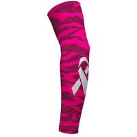 Digital Ripped camo pink arm sleeve