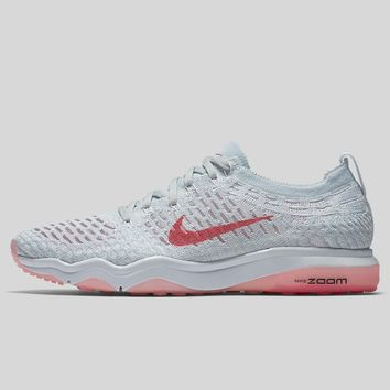 AUGUAU Nike Wmns Air Zoom Fearless Flyknit White Bright Melon Pure Platinum