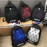Adidas Geometric diamond Male and female shoulder bags