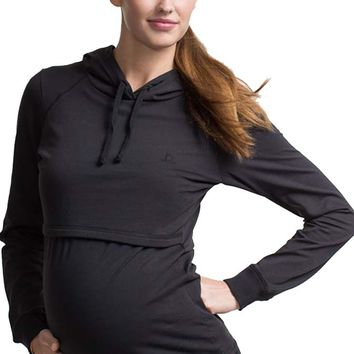 Boob B-Warmer Organic Cotton Maternity Nursing Hoodie