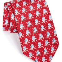 Men's Vineyard Vines 'New England Patriots - NFL' Silk Tie, Size Regular