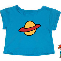 Chuckie Rugrats Crop Tank for Ladies