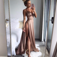 Sheena Double Slit Maxi Dress