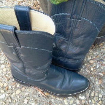 Leather Boots by Justin Womens Size 6B