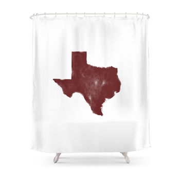 Society6 The Texas Are We - Shanna Shower Curtains