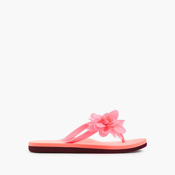 crewcuts Girls Budding Colorblock Flip-Flops