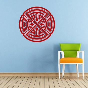 Celtic Knot Wall Decal Celtic Knot Decals Wall Vinyl Sticker Interior Home Decor Vinyl Art Wall Decor Bedroom Mural SV5968
