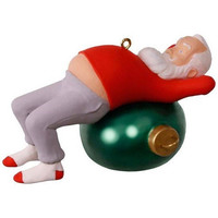 Core Crunchin' Kringle Santa Ornament