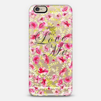 LOVE ME iPhone 6 case by Yinling Chang | Casetify