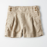 High-Waisted Sailor Short, Sand
