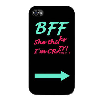 best friend bff couple cases left iPhone 4 4s 5 5s 5c 6 6s plus cases