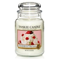 Yankee Candle - Strawberry Buttercream - Large Jar