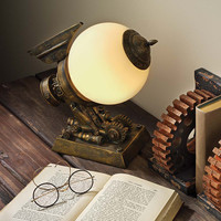 Park Avenue Collection Steampunk Airship Lamp