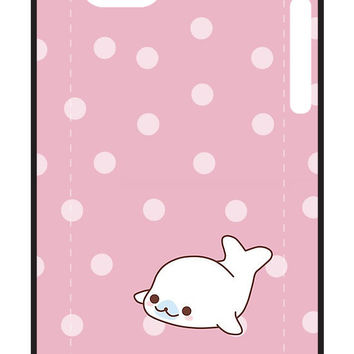 Mamegoma Cute little white whale by LadyTakara