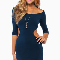 Stealing Moments Bodycon Dress $38