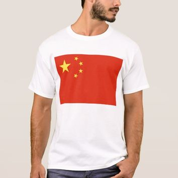 T Shirt with Flag of China