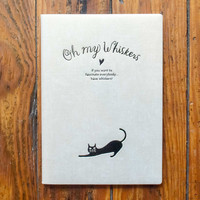 Oh My Whiskers 2017 Monthly Planner