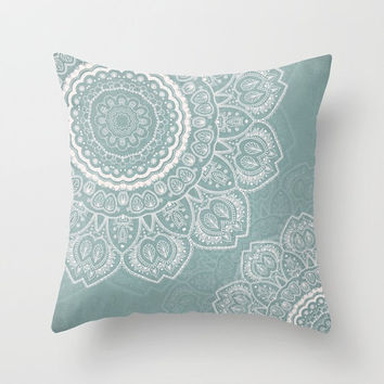 Decorative Throw Pillow Cover - Different sizes to Choose From, Square, Rectangular, Double-sided print, Indoors, Outdoors, Mandala, Boho
