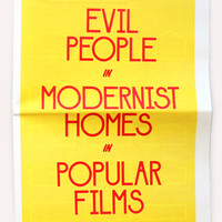 Draw Down — Evil People in Modernist Homes in Popular Films