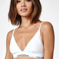 Calvin Klein Modern Cotton Triangle Bralette at PacSun.com
