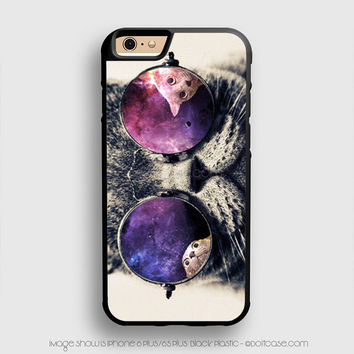 shades cool kitty iPhone 6 Plus Case iPhone 6S+ Cases