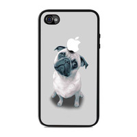 Dog Puppy Pug animal Iphone 4s Cases