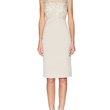 Sheath Dress with Embellishment