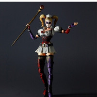 Batman Arkham Asylum Arkham City Harley Quinn Action Figure Toy Doll = 1927920260